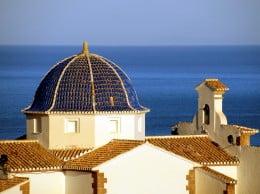 La cúpula de la ermita supone uno de los rasgos más distintivos del monumento arquitectónico