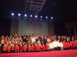 Deportistas galardonados en la Gala del Deporte de 2013