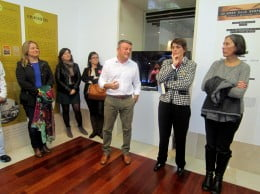Autoridades municipales y organizadoras inauguraron la exposición