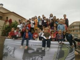 Los triunfadores del cross escolar de Jávea