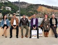 La presentación de la jornada se ha realizado en la escollera de Xàbia
