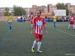 Dani García autor de un gol ante el Catarroja