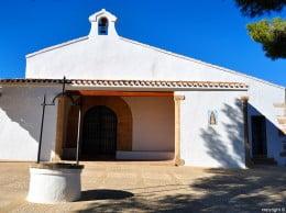 La arquitectura de la ermita responde a la típica de las ermitas de conquista