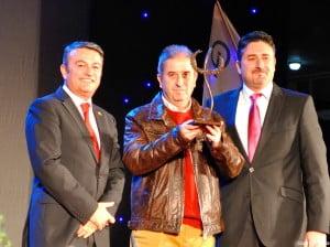 José Francisco Erades Serrat recibió el premio Maurice Chautin