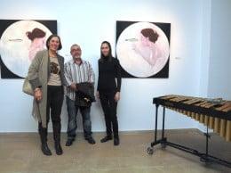 Inauguración de la exposición de pintura de Vidal Porres