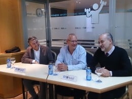 Los tres líderes socialistas se reunieron en la víspera del Día Internacional de las Montañas