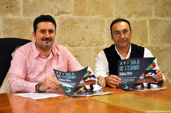 El edil de Deportes y el responsable del Palau han presentado la XVI Gala de L'esport