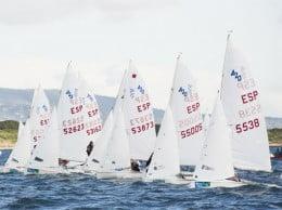 Salida de una regata del Trofeo Ciudad de Palma de 4