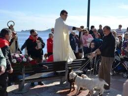 Bendición de mascotas en Aduanas del Mar