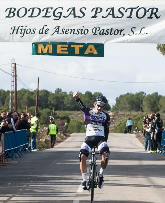 Inocencio Serra ganador de la etapa de Jávea