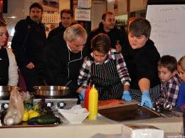 Los representantes de Los Remos La Nao  dieron las claves en la cocina