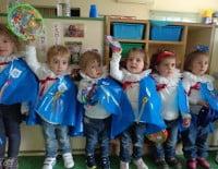 Fiesta de Carnaval en la Escoleta L`Oroneta de Xàbia