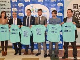 Juanjo Vallés presentó la camiseta oficial del Circuit a Peu