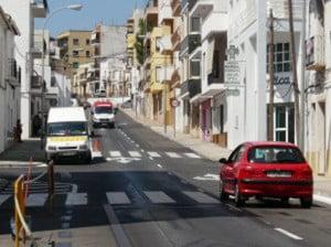 Avenida Juan Carlos I de Jávea