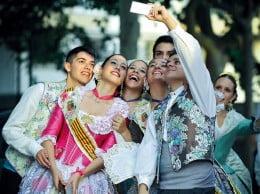 Foto ganadora concurso  Fogueres 2014