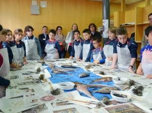 Jóvenes participantes en Culinart