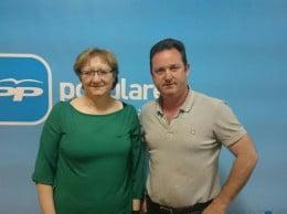 Teresa Ern y Juan José García Pastor PP