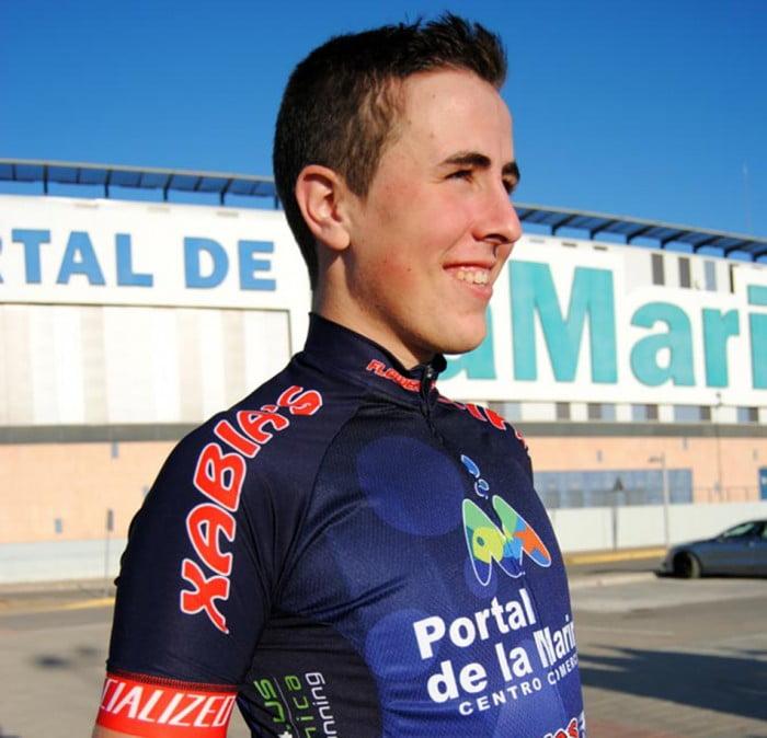 Tomás Miralles ciclista junior