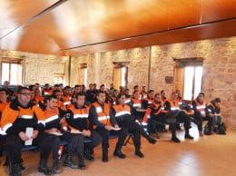 Voluntarios de Protección Civil en Jávea