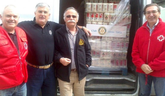 José Luisl Domenech junto a Luis Santos