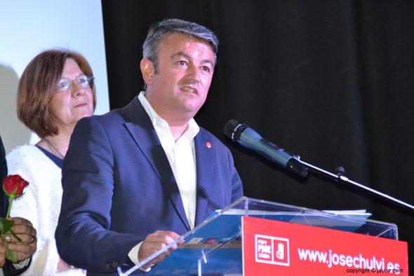 Chulvi durante su discurso