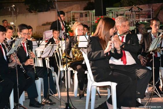 Concierto de la Banda de música de Jávea