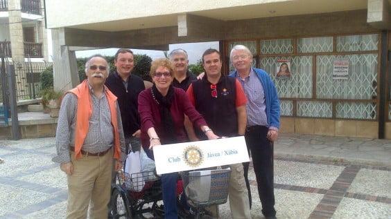 Donación Arroz del Rotary