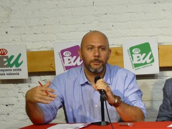 El diputado de EU Ricardo Sixto