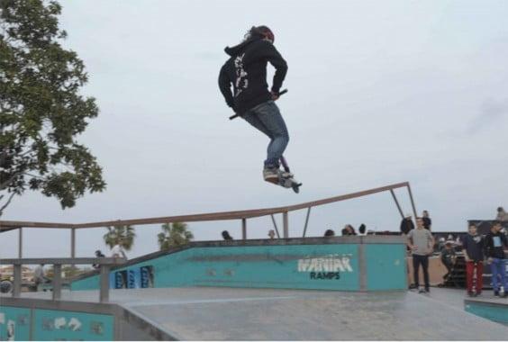 Skater en acción
