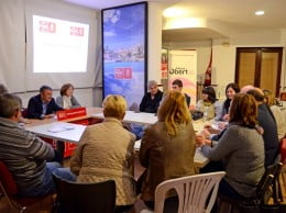 reunión de campaña del PSPV-PSOE Xàbia