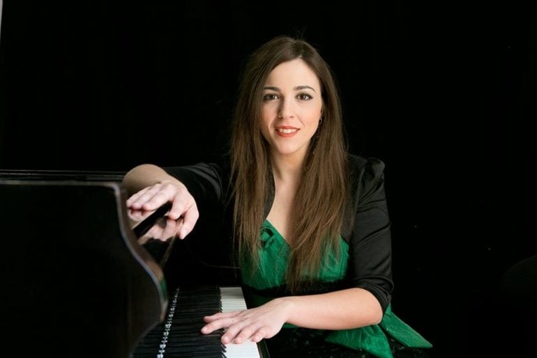 Andrea González pianista que estará en el Festival Vila de Xàbia