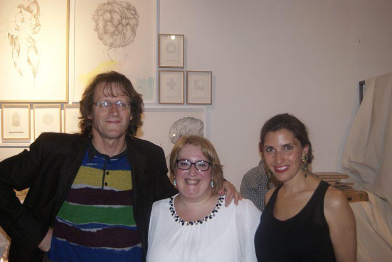 Antonio Gómez junto a Nati Ballarín