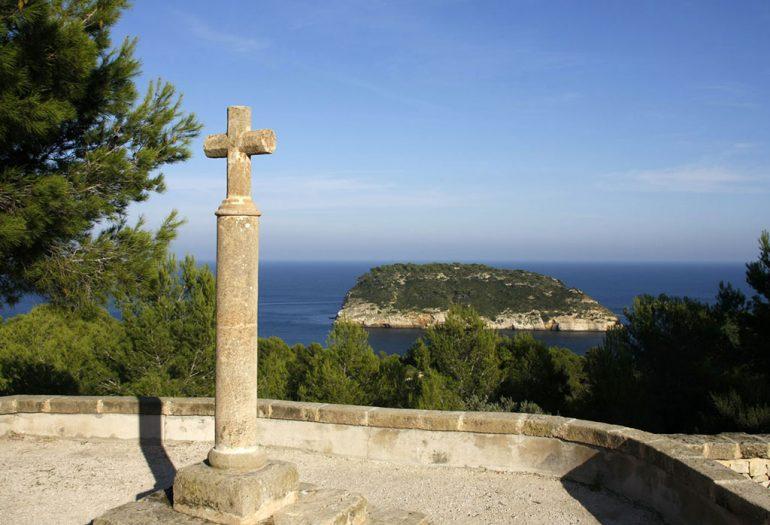 Mirador de la Cruz  del Portitxol de Jávea