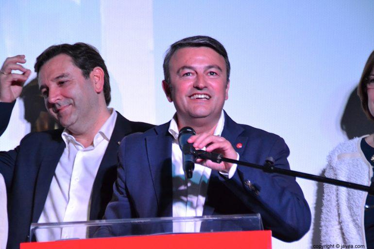 José Chulvi durante un discurso
