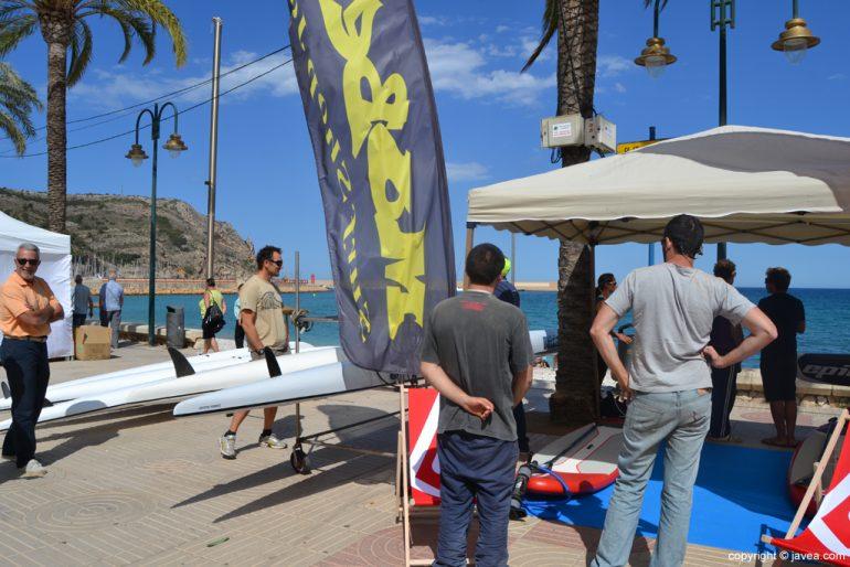 Embarcaciones deportivas en el Festival La mar Sala