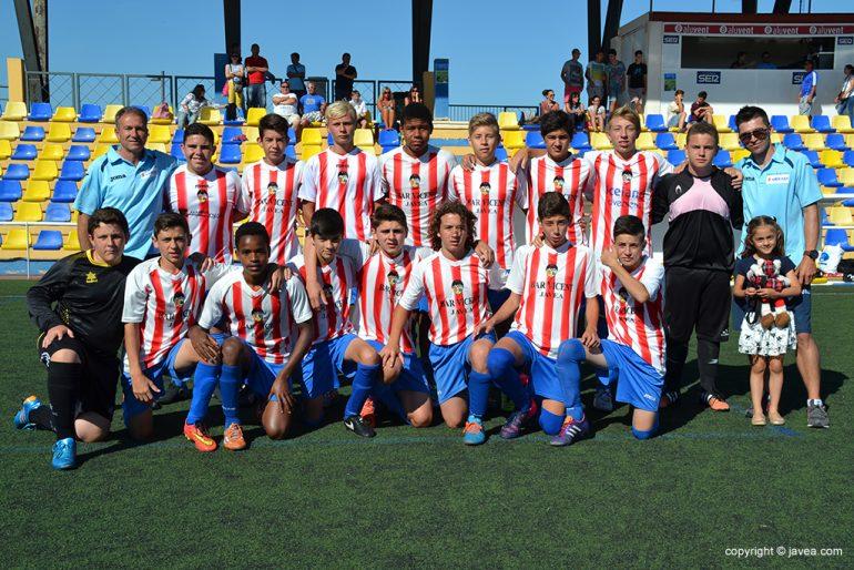 Equipo de Jávea campeón en Fútbol