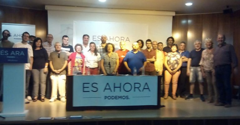 Integrantes  del Círculo Podemos Xàbia