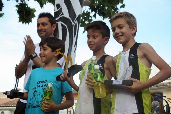 Jesús Benavent y Carlos González podium Pego