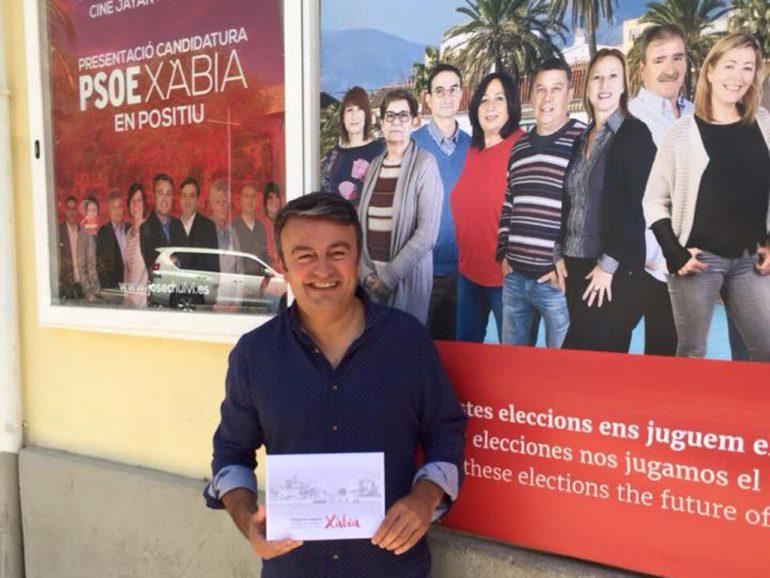 José Chulvi candidato socialista al ayuntamiento de Jávea