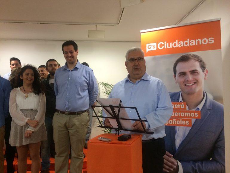 Juan Carlos Generoso en su presentación como candidato