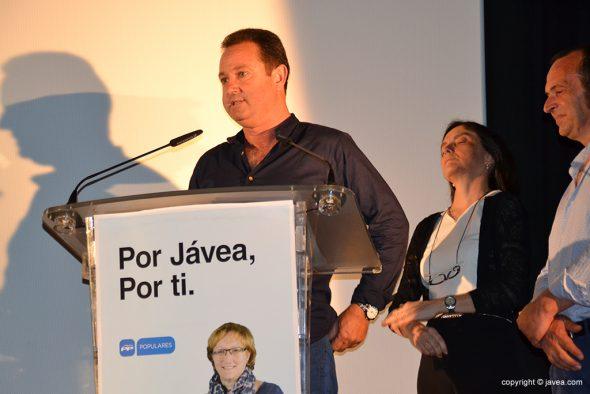 Juan José García número dos de la candidatura popular