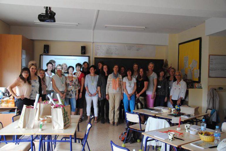 maestros visitantes del Trenc d´Alba
