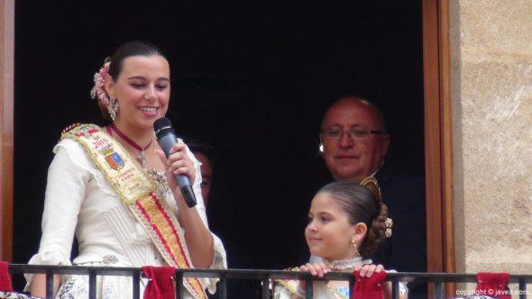 Pregon Fogueres Xàbia 2015 - pregón de Lucía Catalá