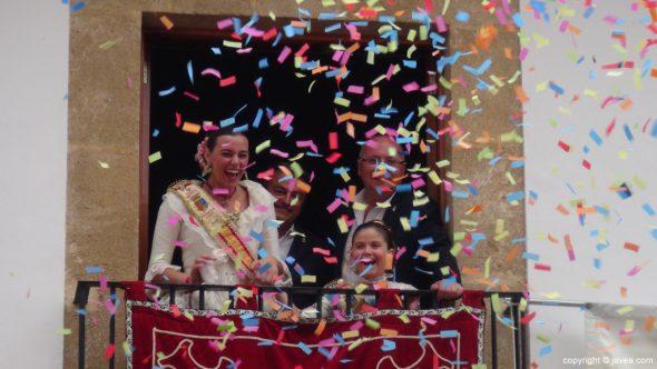 Pregon Fogueres Xàbia 2015 - explosión de confeti