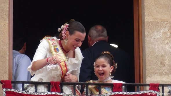 Pregon Fogueres Xàbia 2015 - Lucía y Ainhoa
