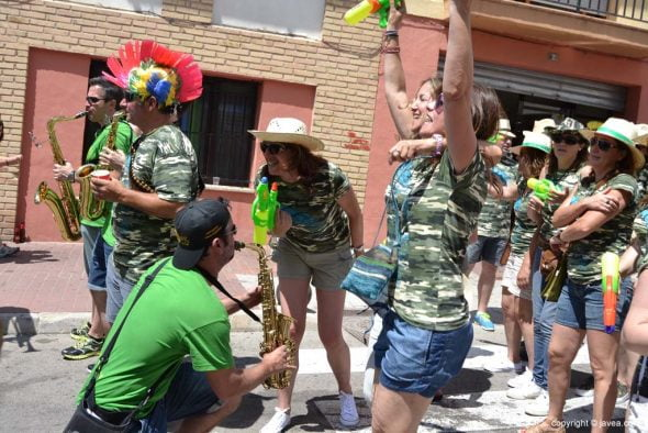 Día de les Quintades en Xàbia - Cachorras band