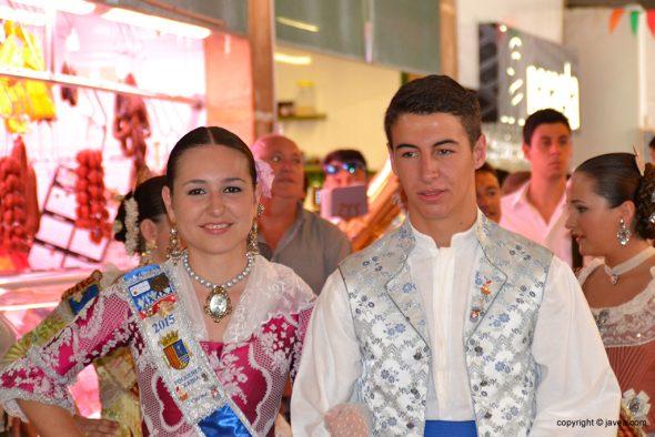 Carmen Catalá en el mercado