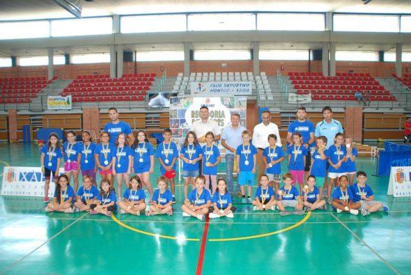 Clausura de las Escuelas Deportivas Municipales de  Xàbia