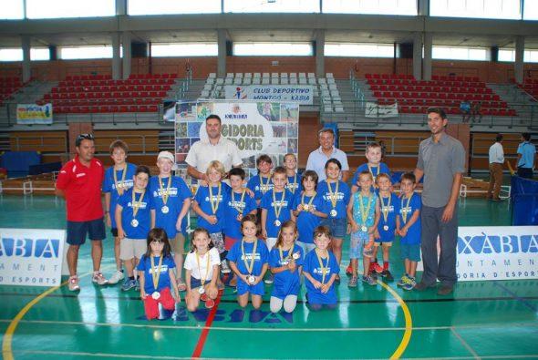 Entrega de medallas de las Escuelas Deportivas Municipales de Xàbia