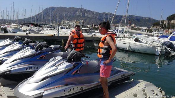Excursiones moto de agua
